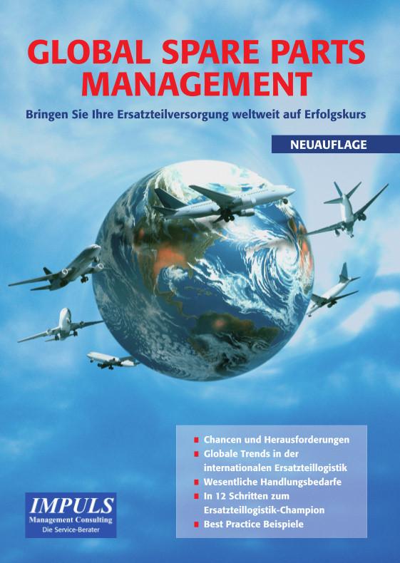 Flieger umkreisen Weltkugel; Ersatzteilmanagement